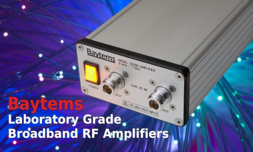 Broadband RF Amplifiers for EMC testing, HP 8447D replacement